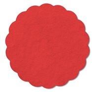 Rozetky AIRLAND 9 cm červenej