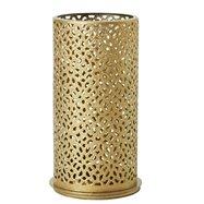 Svietnik Metal 140X75mm BLISS GOLD