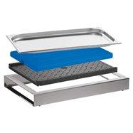 Bufetový modul ICE , nerez, výška 6,5 cm