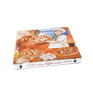 Krabice na pizzu z vlnité lepenky 32x32x3